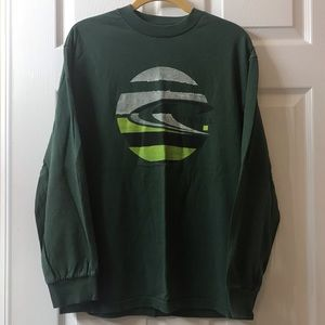 O'Neill long sleeve T-shirt, Green, Medium